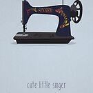 Cute Little Singer by modernistdesign