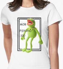 mob psycho 100 shirt Women's Fitted T-Shirt