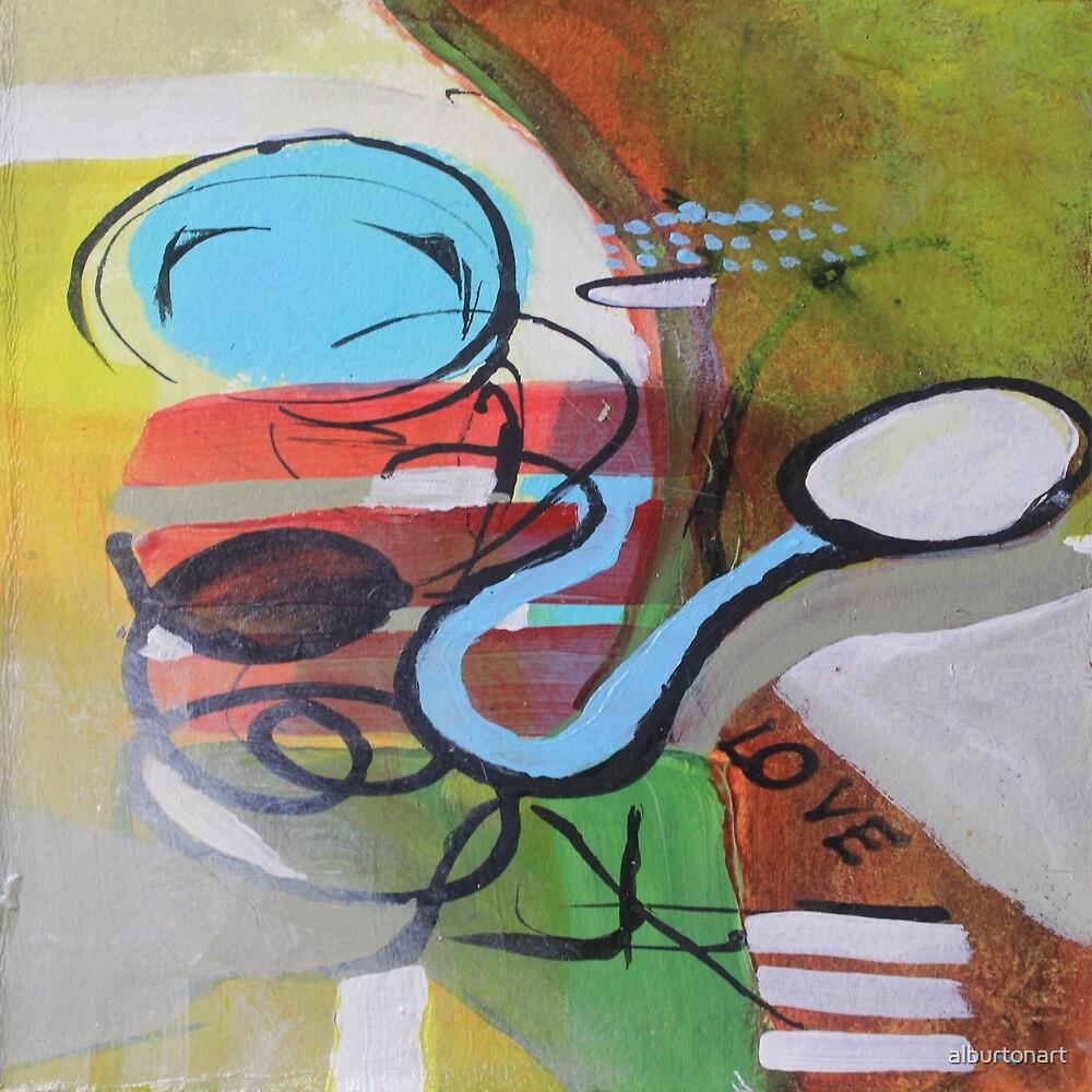 Mother's Love Abstract by alburtonart