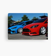Hoonigan Ford Focus RS and ST Canvas Print