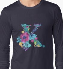 Floral Monogram K T-Shirt