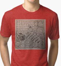 Zentangle 27 Tri-blend T-Shirt