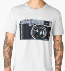 Watercolor Camera | Trendy/Hipster/Tumblr Meme Men's Premium T-Shirt