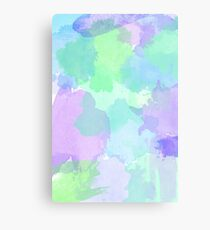Cool Watercolor Canvas Print