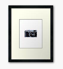 Watercolor Camera | Trendy/Hipster/Tumblr Meme Framed Print