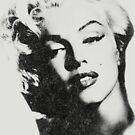 Marilyn Monroe in vintage black-n-white by Tasty Clothing
