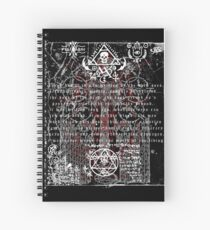 Ex Mortis Spiral Notebook