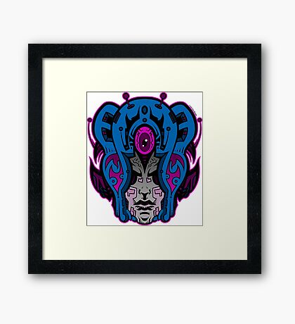 Mind Warp! Framed Print