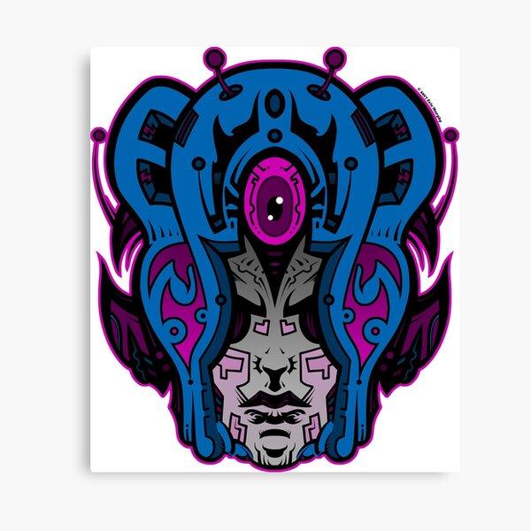 Mind Warp! Canvas Print