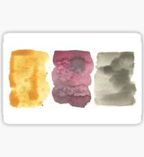Afternoon Tea Collection Abstract Watercolor Sticker