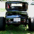 Back In Black Classic Ford by Glenna Walker