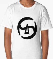 FFXIV Samurai Job Class Icon Long T-Shirt
