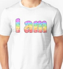I am (Border) Unisex T-Shirt