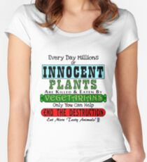 Bad Vegetarians Women's Fitted Scoop T-Shirt