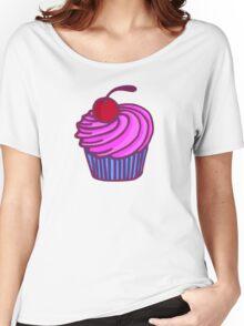 CHERRY CUPCAKE Women's Relaxed Fit T-Shirt