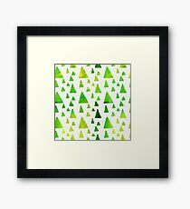 Cute Abstract Pattern Framed Print