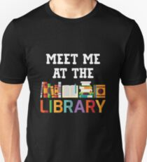 Funny Gifts For Book Lover. Funny Shirts For BookWorm Unisex T-Shirt