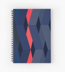 Modernist Weave Spiral Notebook