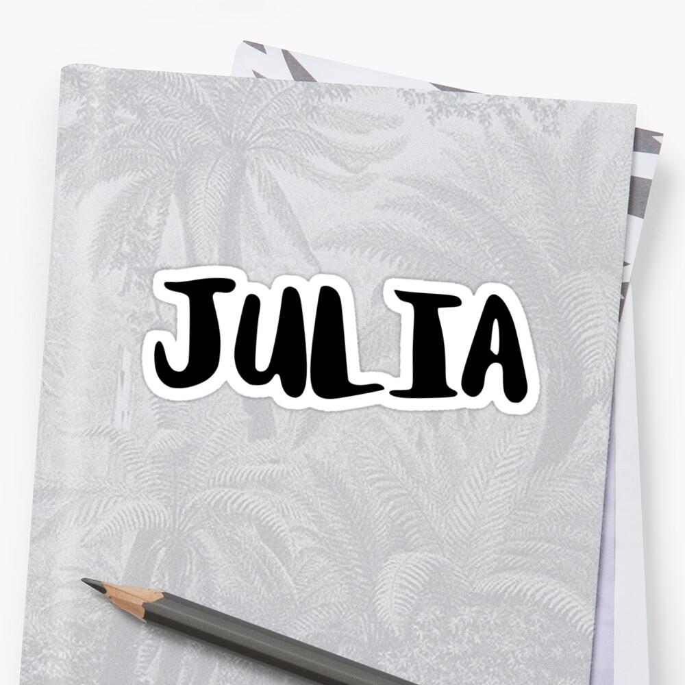 Julia by FTML
