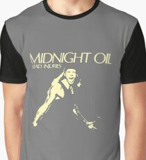midnight oil head injuries Graphic T-Shirt