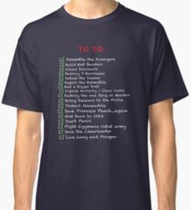 Busy 'To-Do' List Classic T-Shirt