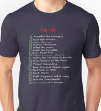 Busy 'To-Do' List T-Shirt