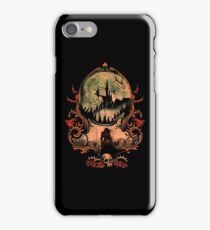 a scary castle iPhone Case/Skin