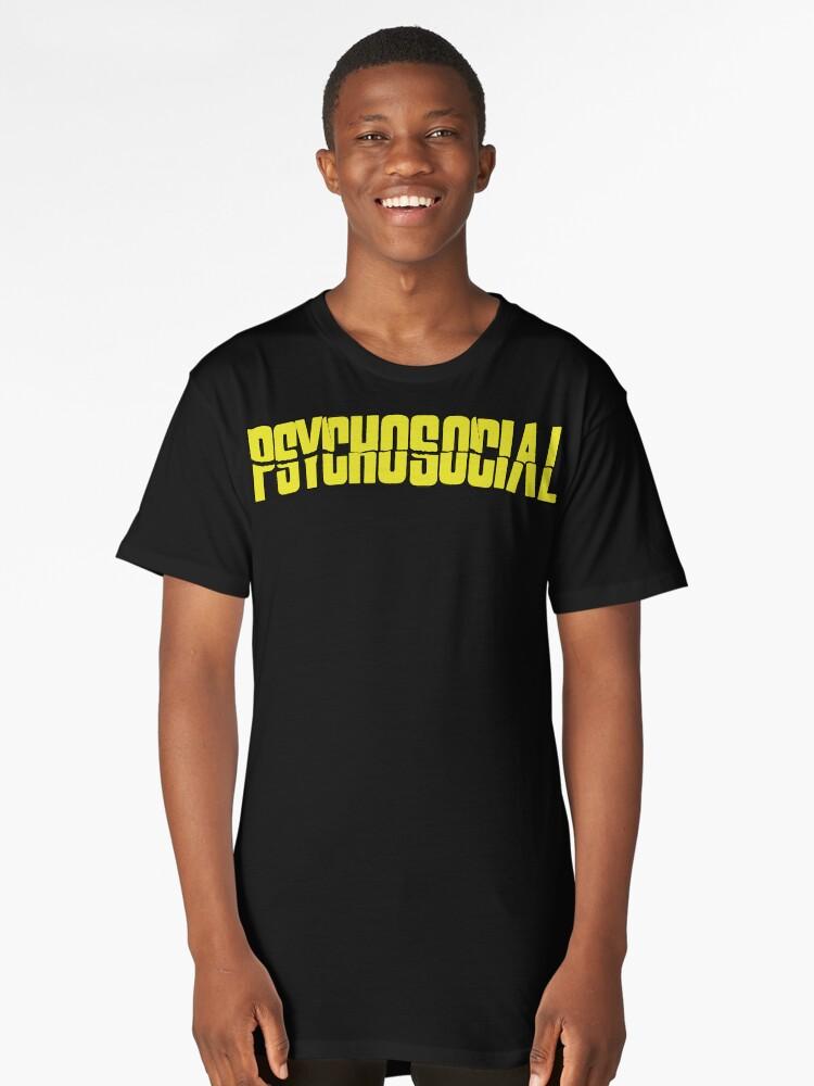 Psychosocial Long T-Shirt Front