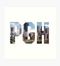 PITTSBURGH - The City Art Print