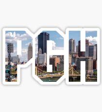 Pegatina PITTSBURGH - La ciudad