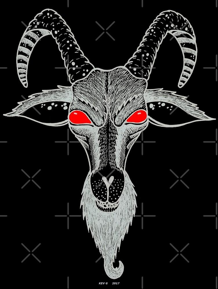 Red Eyes - Art By Kev G by ArtByKevG