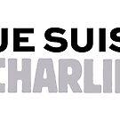 Je Suis Charlie, I AM CHARLIE by Vintage Works