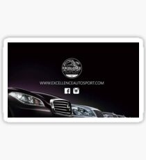 Auto Excellence Sport Sticker