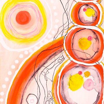 Orange Stones by JakkiOakes