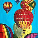 """""""Hot Air Balloons"""" by Adela Camille Sutton"""