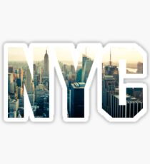 NEW YORK - The City Sticker