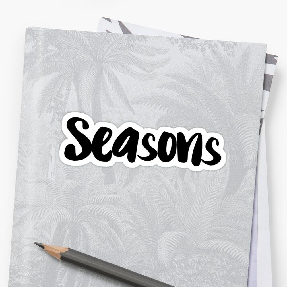 Seasons by FTML