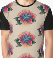 pink peony Graphic T-Shirt