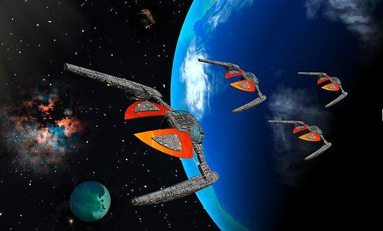 Dragon Squadron by AlienVisitor