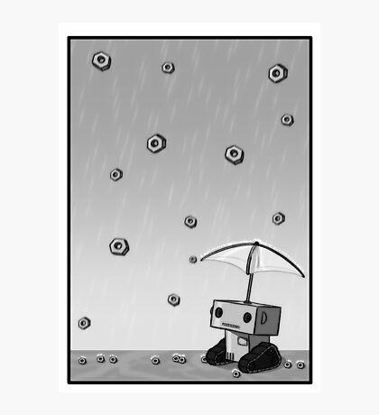 Raining Bolts Photographic Print
