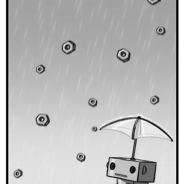 Raining Bolts by scarlet-neko
