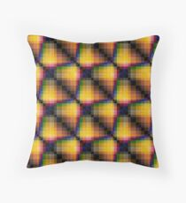 Multi-colored pattern . Throw Pillow