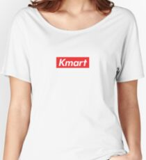 Kmart Supreme Parody Women's Relaxed Fit T-Shirt