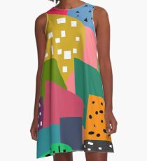 Shapes and patterns A-Line Dress