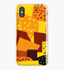 Bright shapes and patterns iPhone Case/Skin