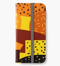 Bright shapes and patterns iPhone Wallet