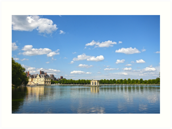Palace of Fontainebleau (Chateau de Fontainebleau), France by PhotoStock-Isra