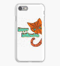 Happy Halloween Black Cat 2017 T- Shirt Funny costume Gift iPhone Case/Skin