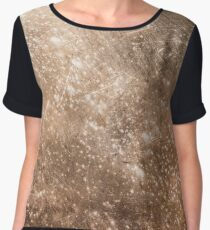 Rusty metal texture background Women's Chiffon Top