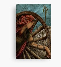 Hope as St. Catherine Canvas Print